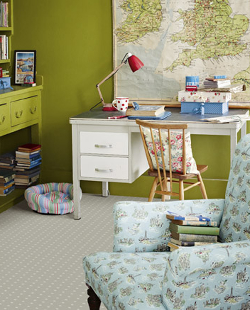 VIntage room design could work for a boys' room just not overdo it.
