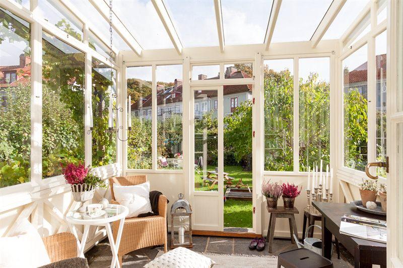 Vintage Glass Veranda For Relaxation