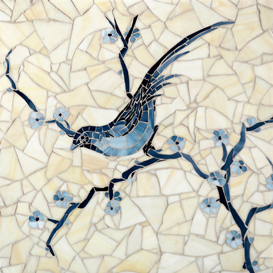Chinoiserie Jewel Glass Mosaic