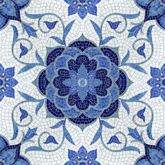Aurelia Jewel Glass Mosaic