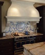 Acanthus Kitchen Backsplash