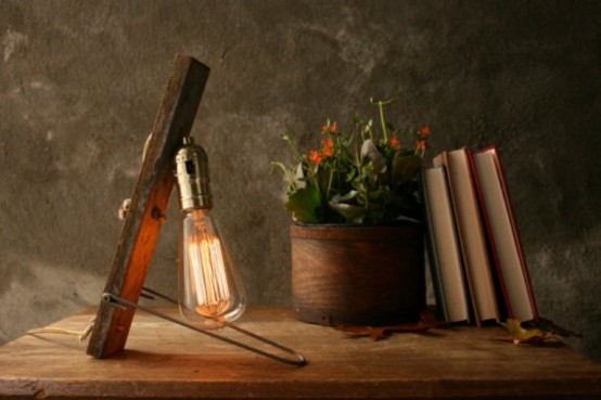 Cool Vintage Table Lamp Inspired By Nature Itself - DigsDigs