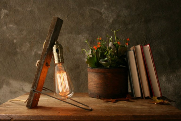 vintage lamp inspired by nature 3 - Cool Vintage Table Lamp Inspired By Nature Itself
