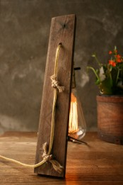 Vintage Lamp Inspired By Nature
