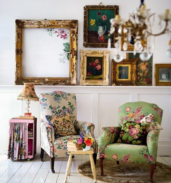 The Decorating Store: 27 Vintage Living Room Designs That You'll Love