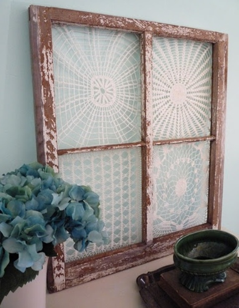 Http Www Digsdigs Com Vintage Romance 33 Lace Home Decor Ideas