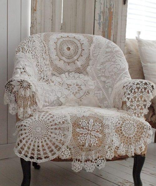 Trend Shake 40 Indigo Home Décor Ideas: Vintage Romance: 33 Lace Home Décor Ideas