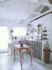 Vintage Romantic Kitchen