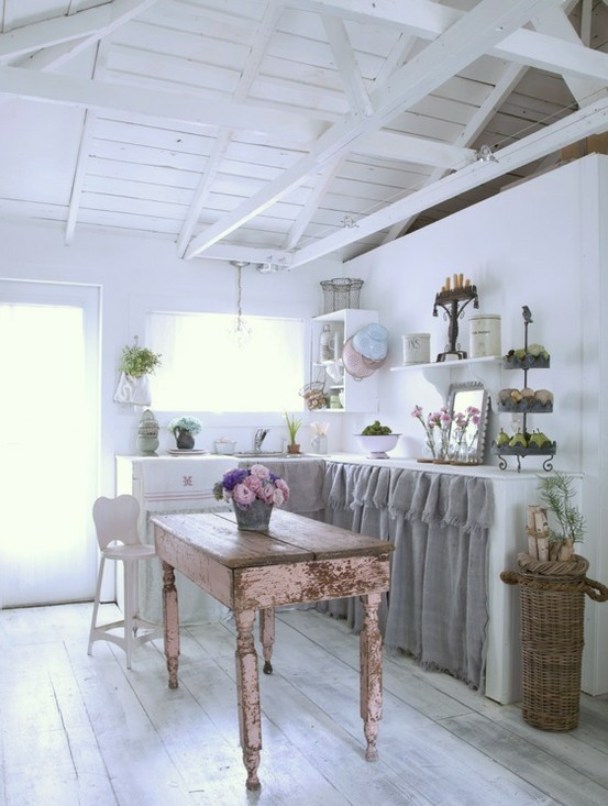 Vintage Romantic Kitchen