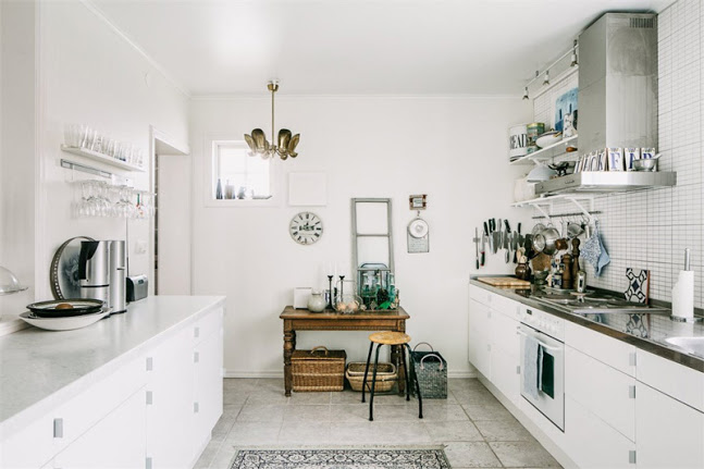 Vintage Styled Scandinavian Home From An Old Church