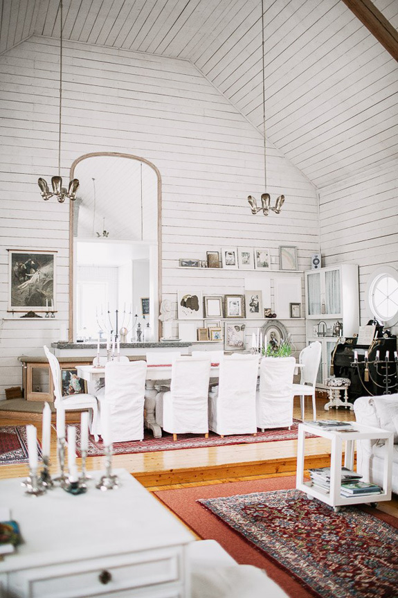 Picture Of vintage styled scandianvian home from an old church  8