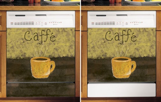 Vinyl And Magnet Dishwasher Cover Panels By Applicianist Art