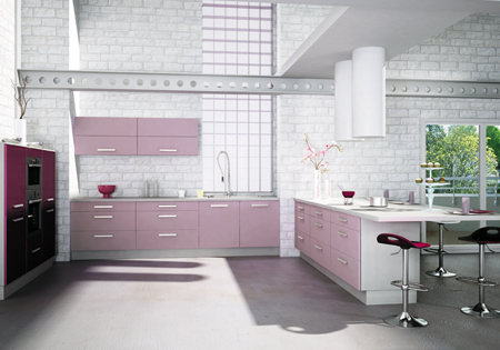 Violet Kitchen Inspiration