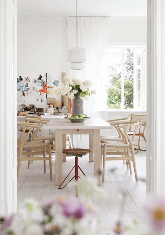 Vivacious Family Home With Vintage Charm In Sweden
