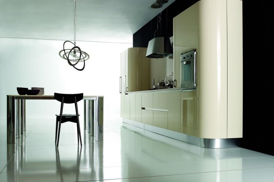 Contemporary Kitchen Furniture By Aran Cucine - DigsDigs