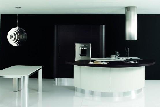 Contemporary Kitchen Furniture By Aran Cucine - DigsDigs