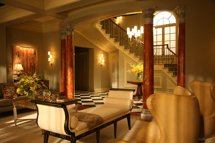 interiors from gossip girl tv series digsdigs