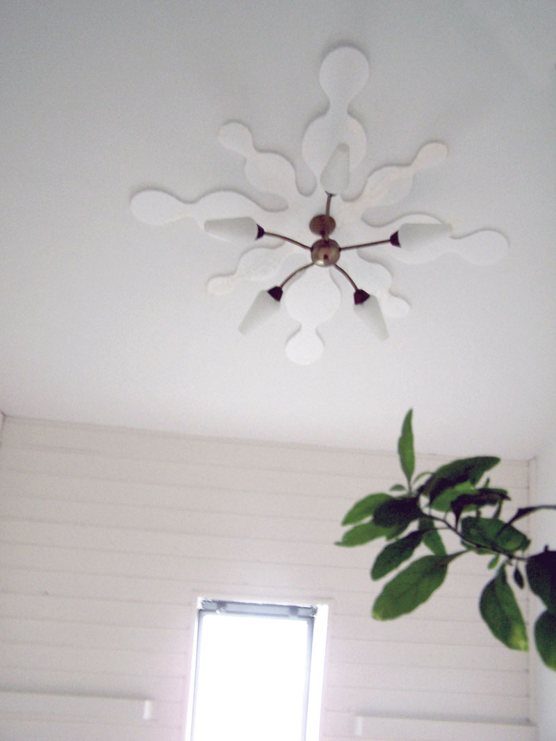 Ceiling Decorating Ideas - Classic House Roof Design