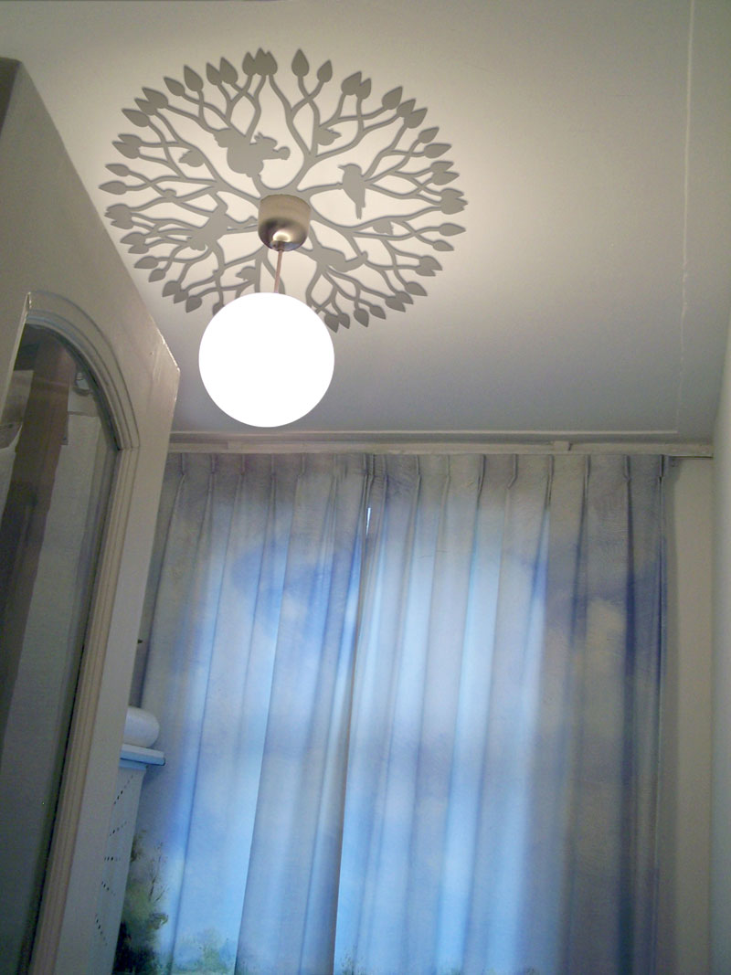 Ceiling Decorations For Bedroom: Refine Wall And Ceiling Decorations For Classic And Modern