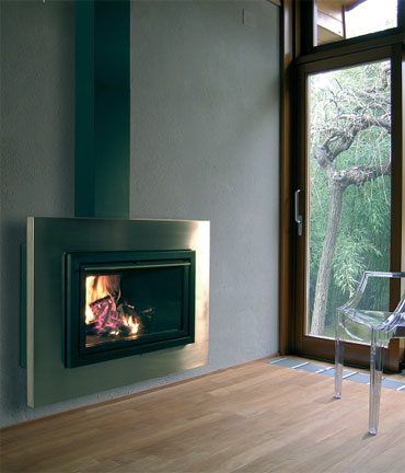 Modern Wall Fireplaces by Foc Design