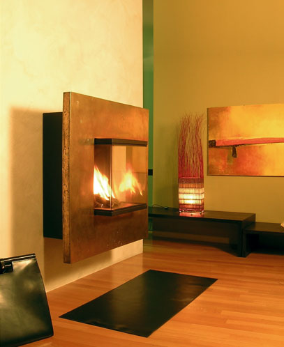 Wall Fireplace Ogami