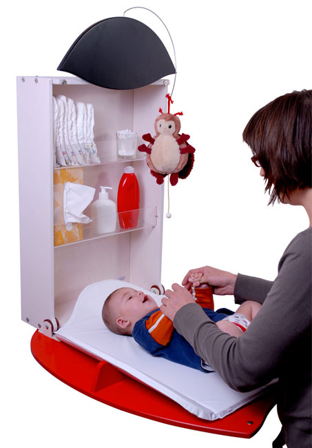 Wall Mount Baby Changer