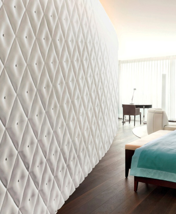 Decorative Wall Coverings : Wall panels with d effect digsdigs