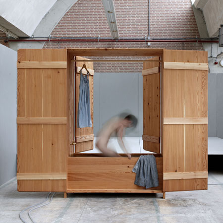 Wardrobe And Dutch Sauna Combined
