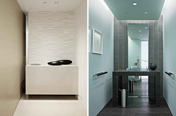 Warm soft and minimalist apartment interior design by garcia tamjidi digsdigs - Gorgeous modern vanity cabinets for minimalist bathroom interiors ...