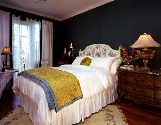 Picture Of warm bedroom maura taft  6