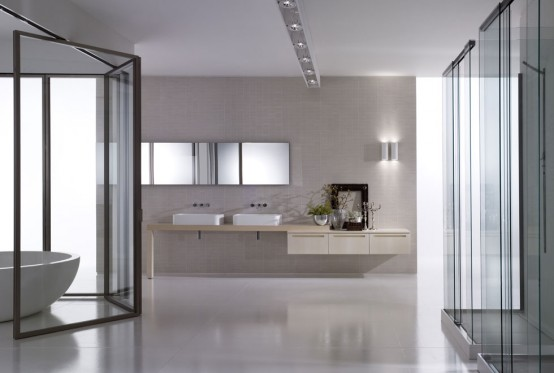 Very Big Bathroom Inspirations from Boffi