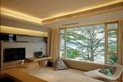 Warm House Interior In China