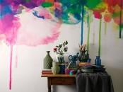 Watercolor Walls Ideas