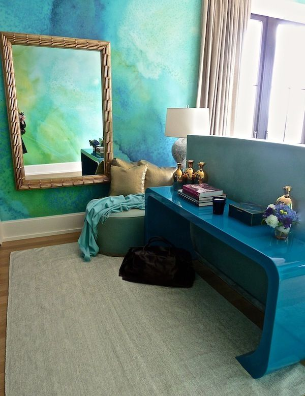 Watercolor Walls Ideas