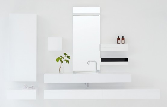 Waterstone Bathroom Furniture Collection by Pom d'Or