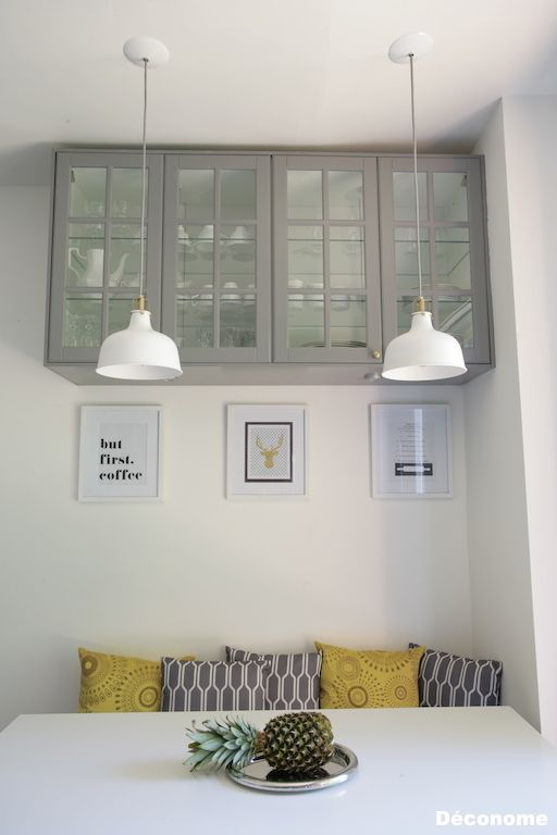 37 ways to incorporate ikea ranarp lamp into home d cor for Banquette cuisine ikea
