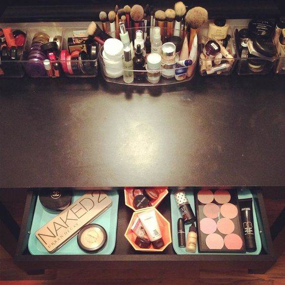 Picture Of ways to organize your makeup and beauty products like a pro  17