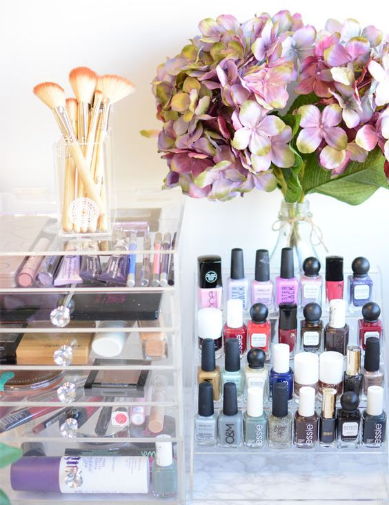 Picture Of ways to organize your makeup and beauty products like a pro  22