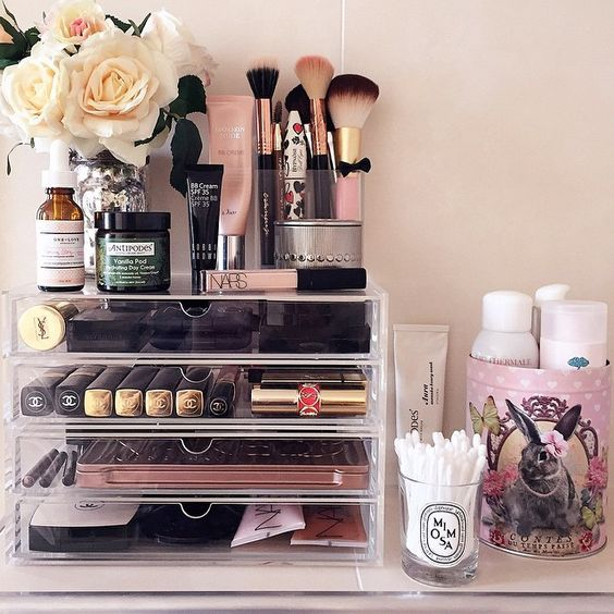 Picture Of ways to organize your makeup and beauty products like a pro  26