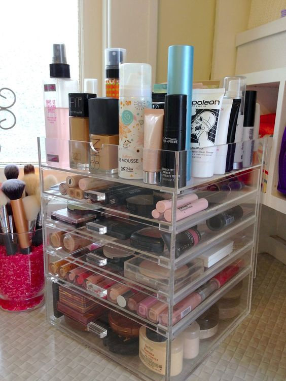 Picture Of ways to organize your makeup and beauty products like a pro  32