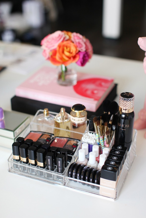 Picture Of ways to organize your makeup and beauty products like a pro  5