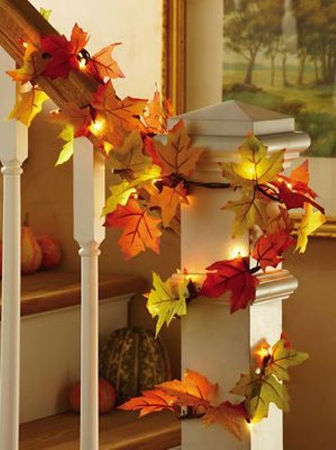 30 Cool Ways To Use Autumn Leaves For Fall Home D 233 Cor
