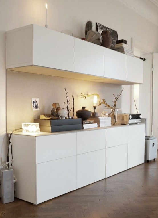 Kitchen-like IKEA Besta storage