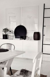 Picture Of Stacked IKEA Besta units storage