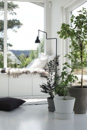 IKEA Besta unit as a daybed