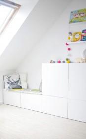 Picture Of Floor To Ceiling Ikea Besta Storage Unit