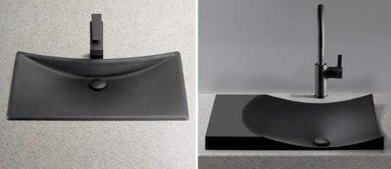 Waza Noir Black Lavatory