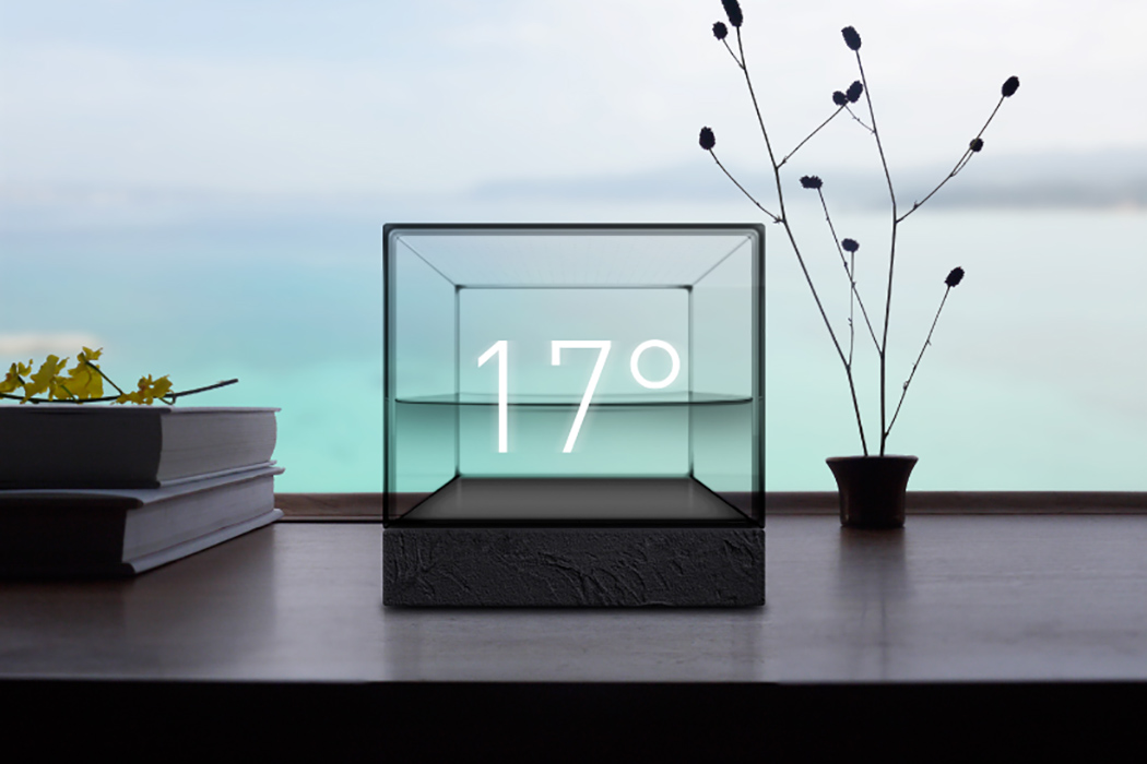 Weather Cube That Makes You Feel Weather At Home
