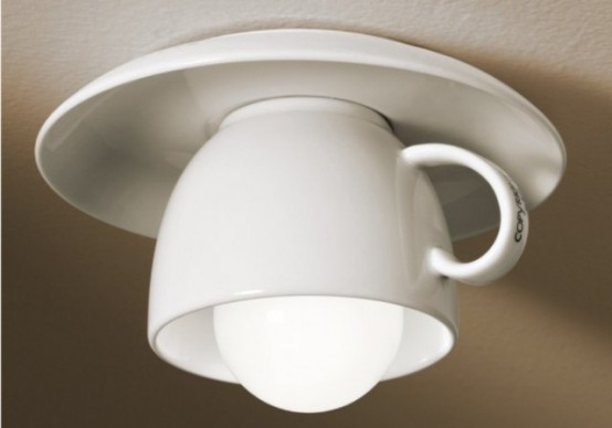 Whimsical Cappuccino Lamp Collection By Vesoi