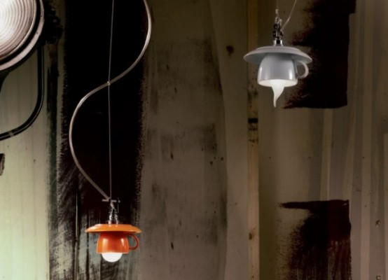 Whimisical Cappuccino Lamp Collection By Vesoi